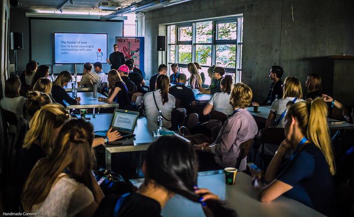 aprendizado perene - next conference